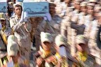پیکر شهید پلیس راه جاسک در بندرعباس تشییع میشود