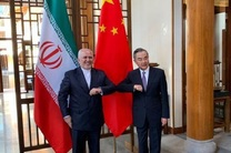 دیدار ظریف با همتای چینی خود