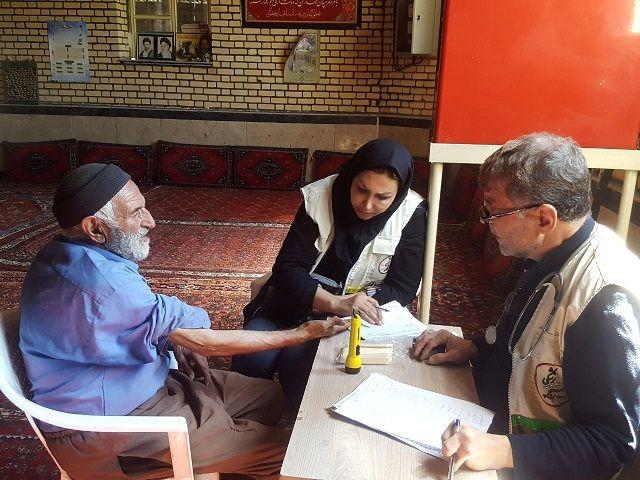 اعزام گروه درمانی به روستای ورکانه