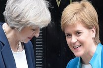 دیدار ترزا می با رهبر اسکاتلند در آستانه کلید خوردن بریگزیت
