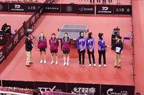 روند پیروزیهای ادامهدار بانوان پینگپنگباز در قهرمانی آسیا