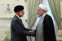 دیدار و رایزنی وزیر امور خارجه عمان با روحانی