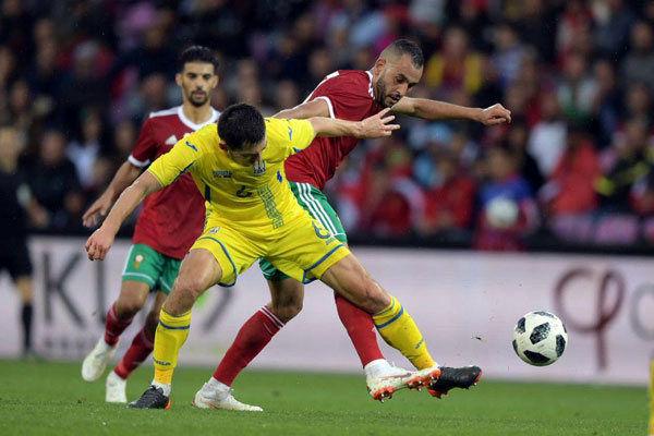 نتیجه بازی مراکش اسلواکی 2 - 1 به پایان رسید