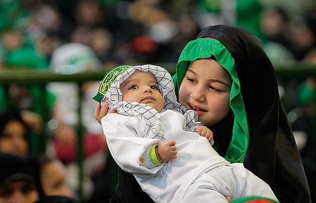 همایش شیرخوارگان حسینی در استان لرستان برگزار شد