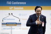 معاون وزیر کشاورزی چین مدیرکل فائو شد
