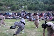ششمین جشنواره بین المللی بازیهای بومی محلی در مریوان آغاز شد