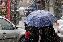 بارش اولین برف زمستانی در کرمانشاه