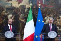 نخست وزیر ایتالیا: انتظار رفتاری مثبت از اروپا در قبال پناهجویان داریم