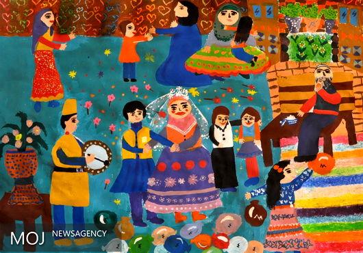 شادیهای کودکان ایرانی برگزیده مسابقه نقاشی هنگکنگ