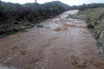 بارش شدید باران در هرمزگان/مردم از ورود به حریم رودخانه ها خودداری کنند