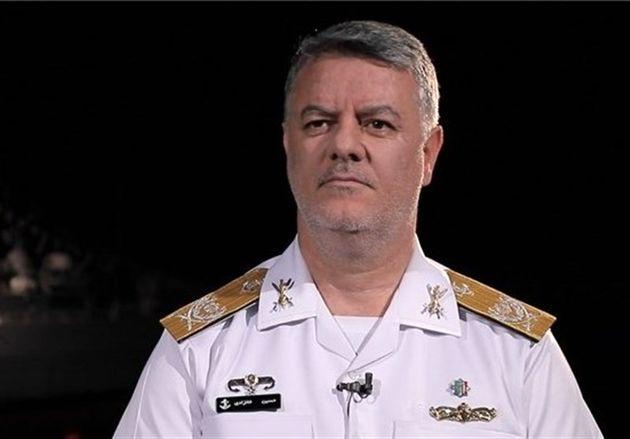 مراسم معارفه فرمانده جدید نیروی دریایی ارتش آغاز شد