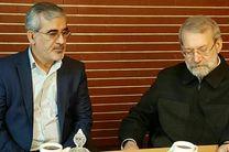 دیدار دکتر لاریجانی با استاندار البرز/تأکید بر حفظ اراضی کشاورزی