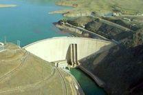کاهش دوباره  ذخیره آب  پشت سد زاینده رود