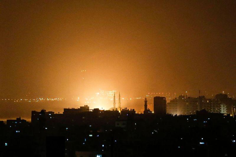 شهادت 2 فلسطینی در اثر بمباران هوایی ارتش رژیم صهیونیستی