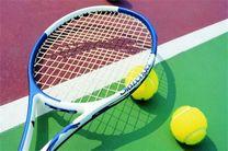 آغاز نخستین مسابقه جایزه بزرگ تنیس در اصفهان