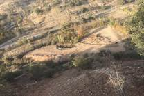 زمین خواری و کوهخواری در تنگه مهریان یاسوج