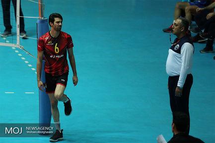 دیدار تیم های والیبال پیکان و شهروند اراک
