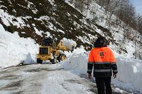 بارش باران و برف در جادههای 8 استان