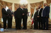 دیدار نایب رییس دفتر سیاسی حماس با دبیر شورای عالی امنیت ملی