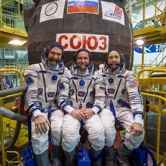 اعضای جدید ایستگاه فضایی بینالمللی به مقصد رسیدند