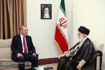 دیدار روسای جمهوری ترکیه و روسیه با مقام معظم رهبری