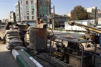 محدودیت های ترافیکی شهران بدلیل آغاز مرحله دوم عملیات تحکیم مسیر