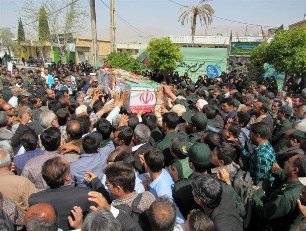 استقبال از شهید مدافع حرم در شهرستان کارون