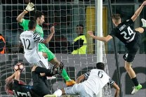 حمله هوادار آتالانتا به گزاشگر بازی تیمش برابر یوونتوس