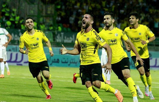 تیم فوتبال سپاهان به مرحله یک هشتم نهایی صعود کرد