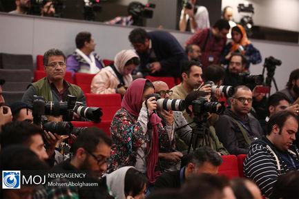 نشست خبری فیلم «من میترسم» به کارگردانی بهنام بهزادی