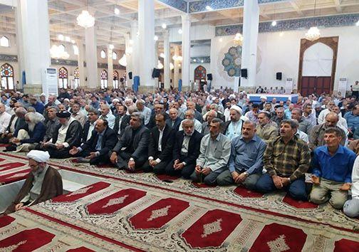 نماز عید سعید قربان در گیلان اقامه شد
