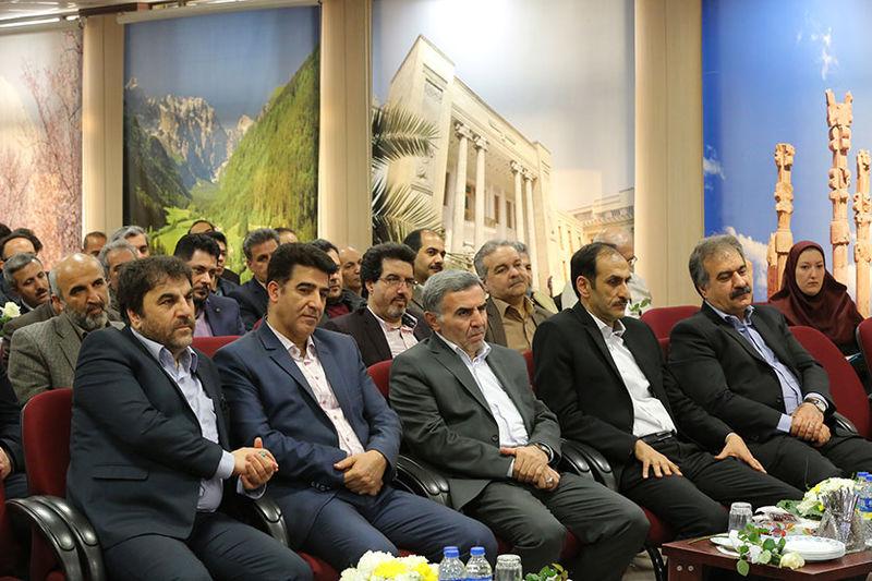 تجلیل از مقام مهندس در بانک ملی ایران