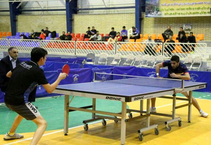 مسابقات تنیس روی میز بزرگسالان کشور در سنندج آغاز به کار کرد