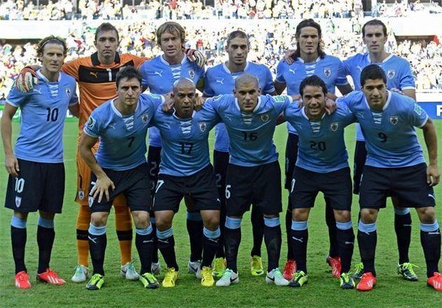 فهرست تیم ملی فوتبال اروگوئه برای جام جهانی منتشر شد