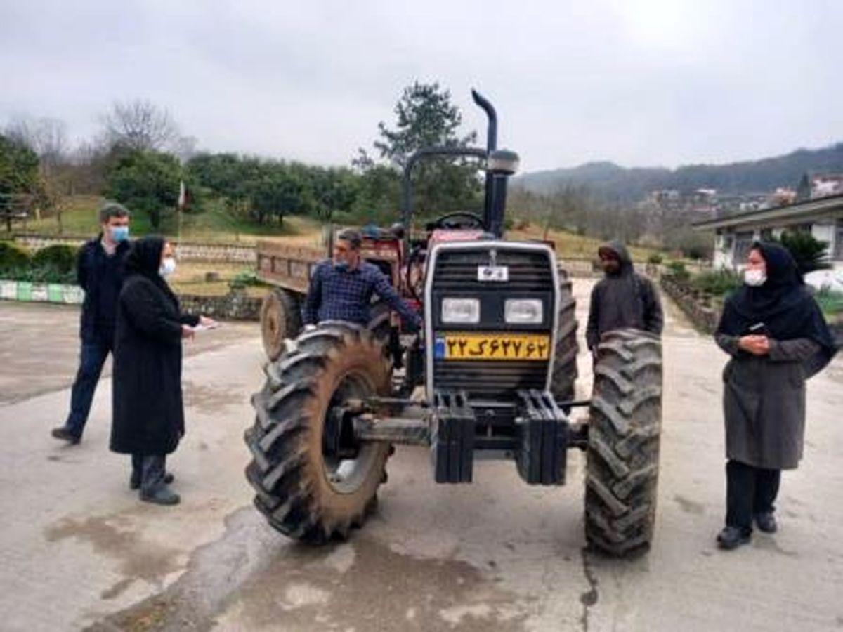 اضافه شدن 28 دستگاه ادوات مکانیزه کشاورزی در سوادکوه شمالی