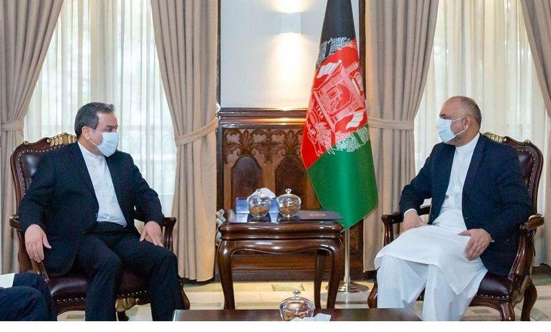 عراقچی با سرپرست وزارت امور خارجه افغانستان دیدار کرد