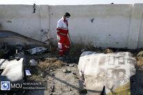 جمع آوری پیکر جان باختگان حادثه سقوط هواپیمای اوکراینی پایان یافت