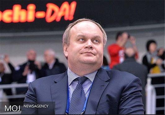 مدودوف معاون وزیر ورزش روسیه را تعلیق کرد