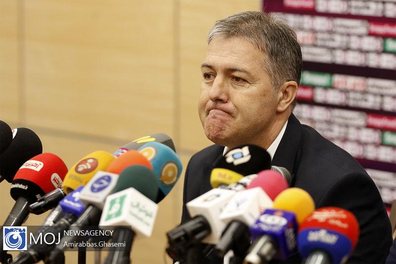 جایگاه تیم ملی ایران بد است اما خوشبینم
