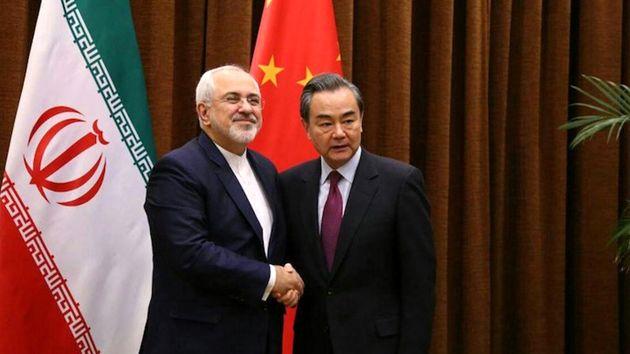 ظریف با همتای چینی خود دیدار کرد