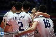 نتیجه بازی والیبال ایران و صربستان/ صعود ایران به شیکاگو قطعی شد