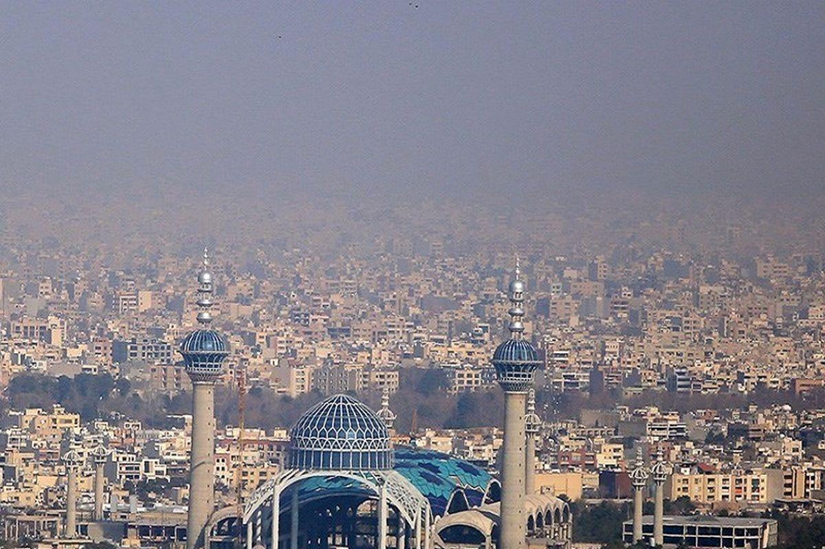 کیفیت هوای اصفهان همچنان در وضعیت نارنجی است