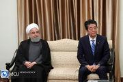 دیدار مجدد نخست وزیر ژاپن و روحانی