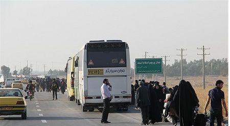 افزایش صد درصدی کرایه اتوبوسرانی در ایام اربعین