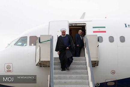 سفر رییس جمهوری به مناطق سیل زده لرستان/ روحانی هواپیما