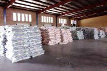 انبار برنج قاچاق در اهواز کشف شد