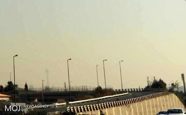کیفیت هوای تهران 29 آبان ناسالم است