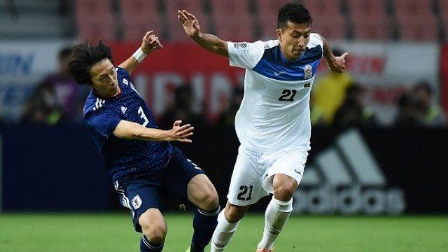 نتیجه بازی ژاپن قرقیزستان/پیروزی قاطعانه ژاپن