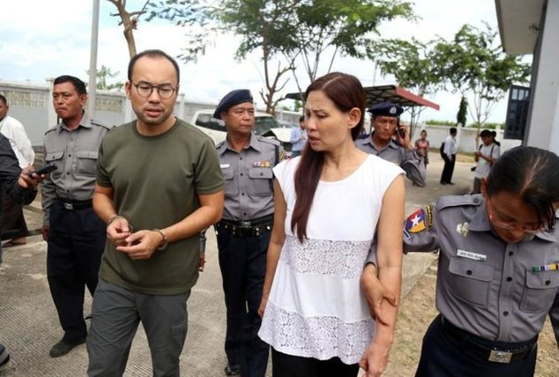 میانمار دو خبرنگار وابسته به رسانه دولتی ترکیه را آزاد کرد