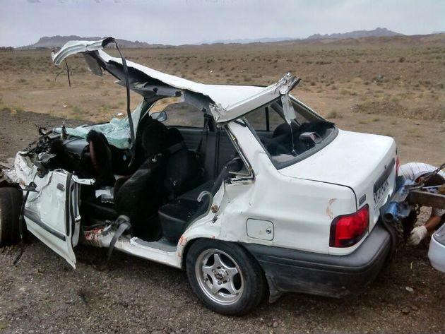 سوانح جادهای دیروز در خوزستان ۲۵ مصدوم و ۱ کشته برجای گذاشت